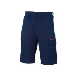 265gsm Digga Cool-Breeze Cotton Cargo Shorts with 4 Airflow Eyelets on Crotch - 3351
