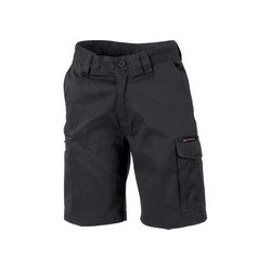 265gsm Ladies Digga Cool-Breeze Cargo Shorts with 4 Airflow Eyelets on Crotch - 3355