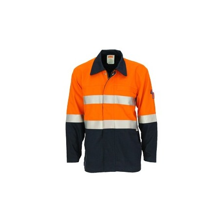 86ac243eb895 311gsm Patron Saint Flame Retardant Two Tone Drill Welder s Jacket with 3M  F R Tape
