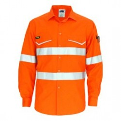 Hivis Ripstop Shirt with CSR R/tape, L/S - 3590
