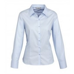 Ladies Luxe Long Sleeve Shirt - S118LL