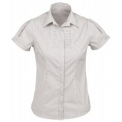 BERLIN LADIES SHORT SLEEVE SHIRT - S121LS