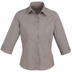 CHEVRON LADIES 3/4 SLEEVE SHIRT - S122LT
