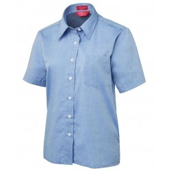 JB's LADIES S/S FINE CHAMBRAY SHIRT - 4LSLS