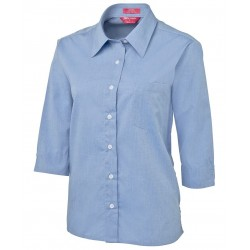 JB's LADIES 3/4 FINE CHAMBRAY SHIRT - 4LSLT