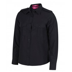 Ladies Epaulette Shirt L/S - 6ESL1