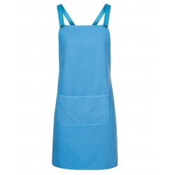 Cross Back Canvas Apron WITHOUT STRAP- 5ACBC