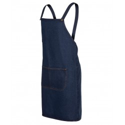 Cross Back Denim Apron - 5ACBD