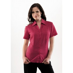 Ladies Printed Oasis Shirt - S29422