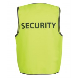 Hi Vis Safety Vest, Security - 6HVS5