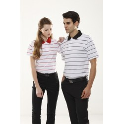 Mens Stripes Polo - ST1021