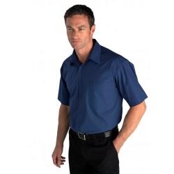 Mens Short Sleeve Micro Check Shirt - SH817