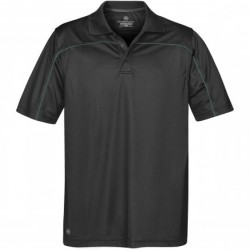 Men's Velocity Sport Polo BL/FO - IPS-2