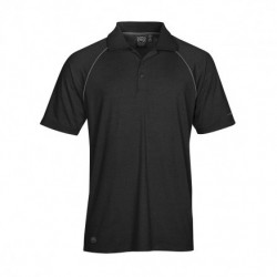 Men's Piranha Performance Polo BL/GR - IPS-4