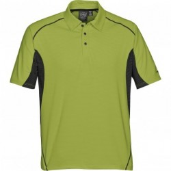 Men's Laguna Performance Polo APGR/BL - LPG-1