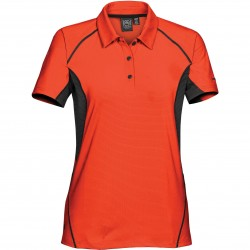 Women's Laguna Polo OR/BL - LPG-1W