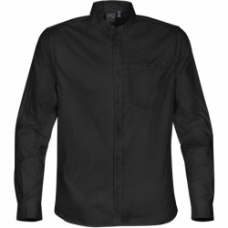 Men's Harbour L/S Shirt Black - LPZ-2