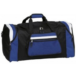 Contrast Gear Sports Bag Black/Royal/White - BCTS