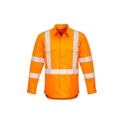 Mens Hi Vis X Back Taped Shirt - ZW690