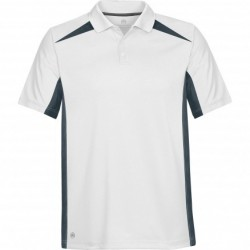 Mens MATCH TWO-TONE TECH POLO - TXP-1