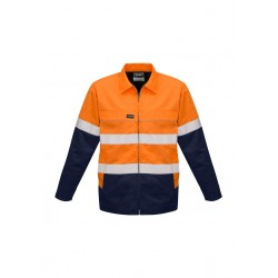 Mens Hi Vis Cotton Drill Jacket - ZJ590