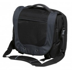 Intern Brief Bag Black/Charcoal - BINB