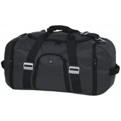 Identity Overnight Bag Charcoal - BIO
