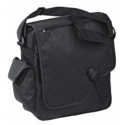 Satellite Messenger Bag Black - BSM