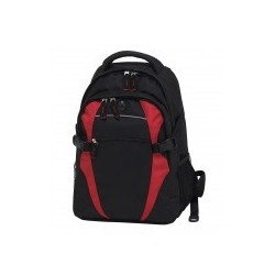 Spliced Zenith Backpack Black/Red - BSPB