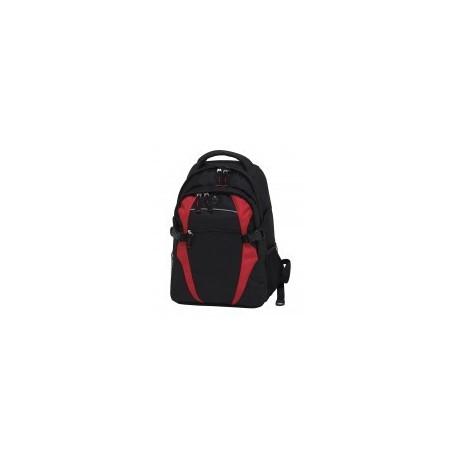 Spliced Zenith Backpack Black/Red - BSPB