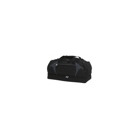 Spliced Zenith Sports Bag Black/Charcoal - BSPS