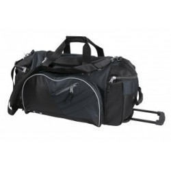 Solitude Travel Bag Black/Charcoal - BST