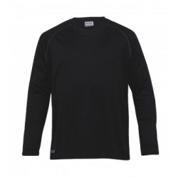 Dri Gear Long Sleeve Tee Black - Mens - DGLS