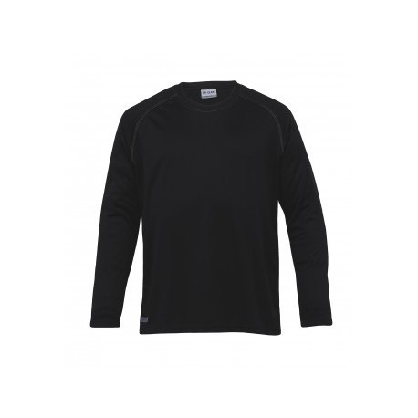 Dri Gear Long Sleeve Tee Black - Mens - DGLS