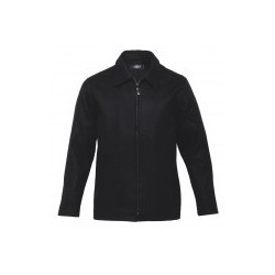 Melton Wool Ceo Jacket Black - Mens - MWJ