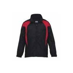 Spliced Zenith Jacket Black/Red - SJ