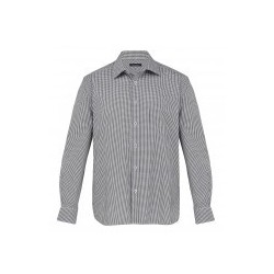 The Kingston Check Shirt Black/White - Mens - TKC