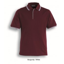 MENS DOUBLE STRIPED POLO - CP0422