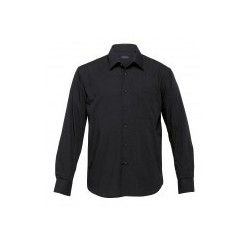 The Republic Long Sleeve Shirt Black - Mens - TRLS