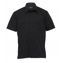 The Republic Short Sleeve Shirt Black - Mens - TRSS