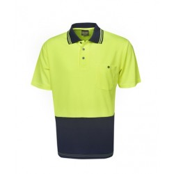 Light Weight Hi Vis Cooldry Polo, S/S - P62