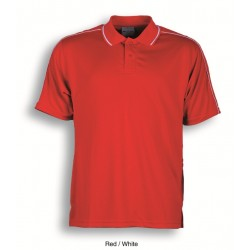 MENS BREEZEWAY STRIPED POLO - CP0673