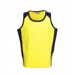 Cooldry Hi Vis side panel singlet - S82