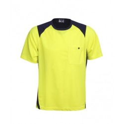 Cooldry Hi Vis side panel T-shirt - T82