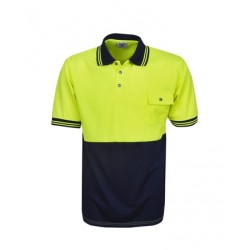 Hi Vis Cooldry Polo, Short Sleeve - P82