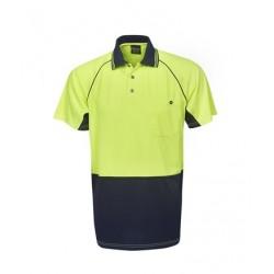 Hi Vis Cooldry Raglan Sleeve Polo S/S - P64