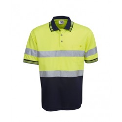 D/N, Hi Vis Cooldry Polo, Short Sleeve - P92