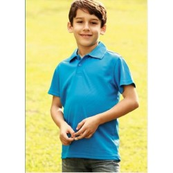 KIDS PLAIN BREEZEWAY POLO - CP0755