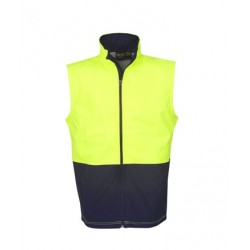 Hi Vis Soft Shell Vest, Day Use - J88