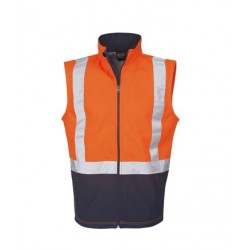 Hi Vis Soft Shell Vest, D/N Use - J89